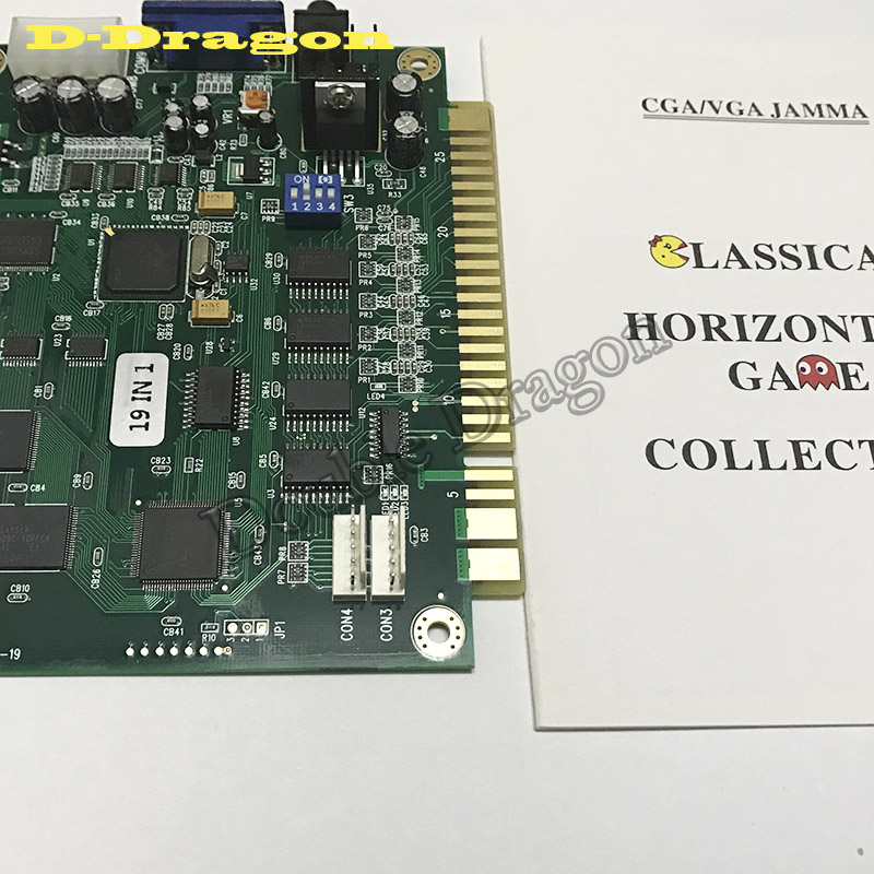 Jamma classic 19 in 1 PCB for Classical Cocktail Arcade Machine or Up Right Arcade Game