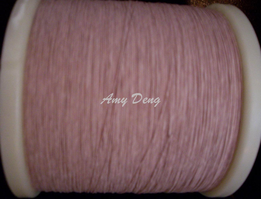 500 Meters/lot  0.07x5 Shares Litz Strands Of Cotton Polyester Envelope Copper Wire
