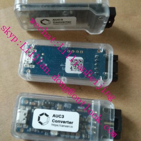 3pcs of Canaan avalon AUC3 converter card avalon connector for ASIC Bitcoin BTC Avalon Miner 741, 721, 841, 851,911(China)