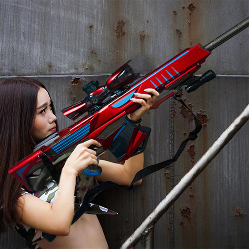 Boys Sniper Rifle Pistol Soft Paintball Outdoor Toys Shooting Gun 1