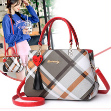 Fashion Women Handbags Tassel PU Leather Totes Bag Top-handle Crossbody