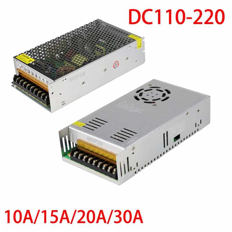 New Input AC110-220V Output DC 12V 20A Monitor Power Supply Surveillance Camera Power Adapter Free Shipping ac to dc 36v 10a power supply switch control electric adapter input 100 240v 50 60hz output 36v 10a monitor dc motor