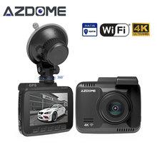 Azdome GS63H 2.4″ Car Dash Cam 4K 2880 x 2160P Dash Camera Built in GPS DVR Recorder Dashcam With WiFi G-Sensor Loop Recording
