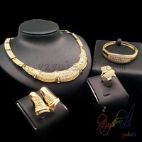 Free shipping native american jewelry wholesale big finest party crystal jewelry sets wholesale horse jewelry