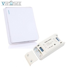 Vhome Wireless button Remote Control  RF 433 Mhz 220V Switch Learning Code Receiver Transmitter Hall Bedroom Ceiling Lights