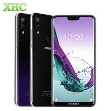 DOOGEE N10 Android 8,1, мобильный телефон, 3 Гб ОЗУ, 32 Гб ПЗУ, 5,84 дюймов, FHD   19:9 дисплей, двойной дисплей, 16,0 Мп, 3360 мАч, 4G LTE, две sim-карты, смартфон