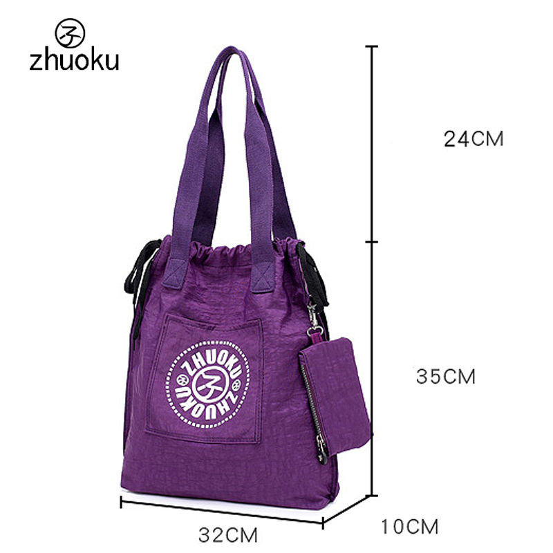 35e47029e1 Detail Feedback Questions about Waterproof nylon mother reusable shopping  bag women fashion Drawstring shopping bag Female grocery bag Promotional  free ...