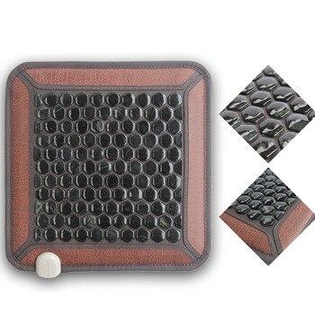 Health Germanium Heating Pad Mat Thermal Mattress Masajeador Size 45cmX45cm