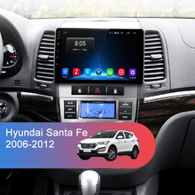 Car Multimedia Stereo Audio Player Android 8.1 GPS 2 Din For Hyundai Santa Fe