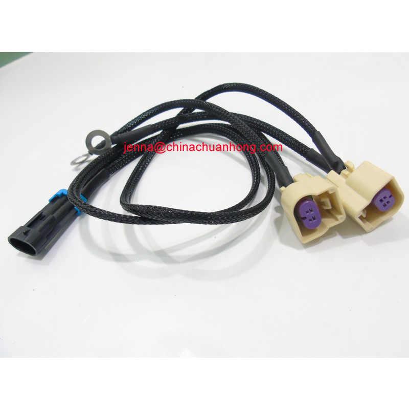Free shipping 100 pcs 660mm Knock Sensor Conversion Adapter