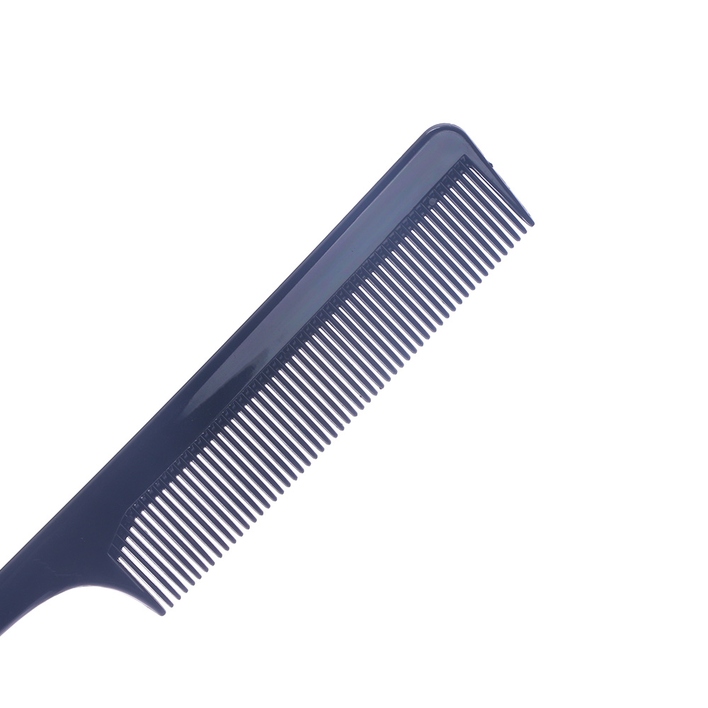 Image 5 - Hot Sale Fine tooth Metal Pin Hairdressing Hair Styling Rat Tail Comb Black Plastic Fine tooth Hair Comb Beauty Tools New-in Combs from Beauty & Health