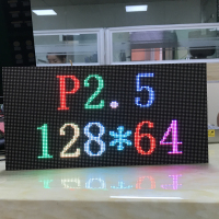 40pcs P2.5 SMD2121 RGB full color led display module indoor LED panel 1/32 scan 320*160mm text pictures video show