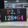 P2.5 SMD2121 RGB voll farbe led anzeige modul  indoor LED panel  1/32 scan 320*160mm  text  bilder  video zeigen-in LED-Anzeige aus Elektronische Bauelemente und Systeme bei