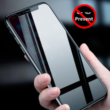 Anti Spy Peeping Screen Protector For iPhone X XS Max 11 Pro Max 9H 2 5D