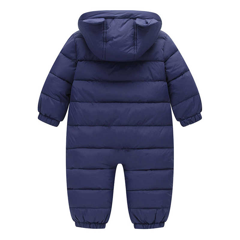 0ec0010ac8d ... BibiCola Newborn Rompers Baby Girls Winter Down Parkas Clothes Toddler  Infant Boys Jumpsuit Clothing for Bebe
