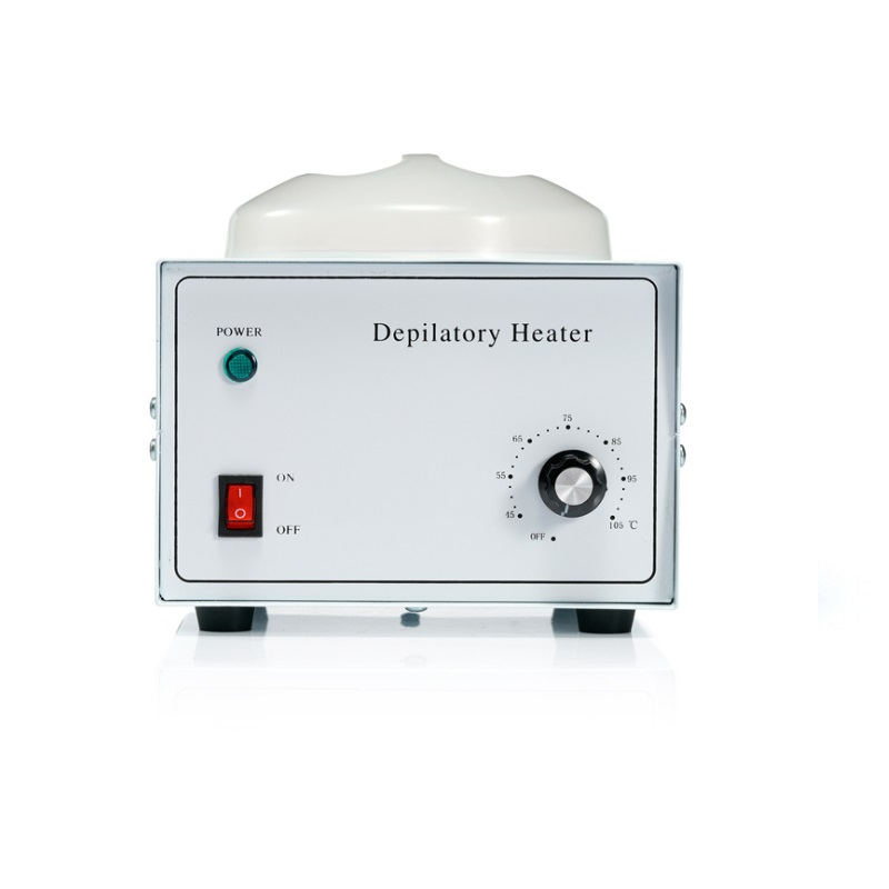 Depilatory Wax Heater Warmer Waxing Machine For Hair Removal & Paraffin Bath With Temperature Adjustment Button - Chauffe Cire