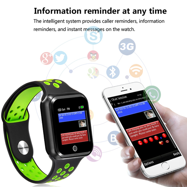 S226 Sports smart watches IP67 Waterproof Smart Bracelet 15 days long standby  Heart Rate Monitor Blood Pressure Pedometer watch 5
