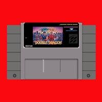 Супер двойной дракон 16 бит большая серая игровая карта для США NTSC игровой плеер