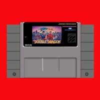 Super Double Dragon 16 bit Großen Grauen Spielkarte Für USA NTSC Spiel Player