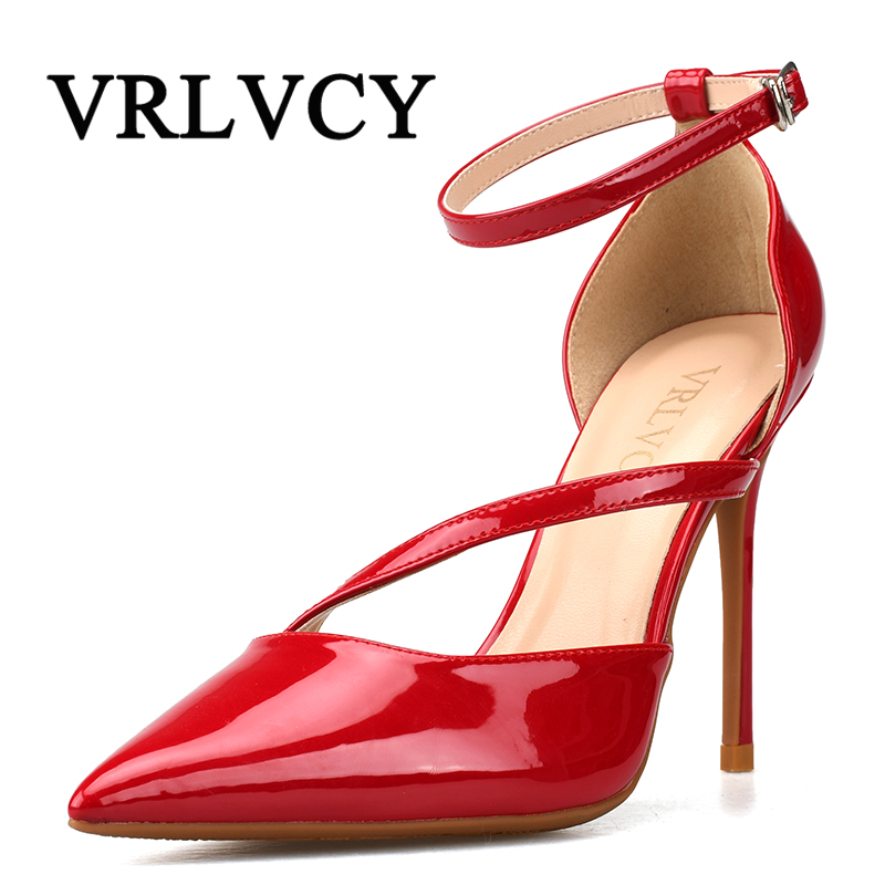 Spring And Autumn Pumps Super High 10cm High-Heeled Shoes Woman Pointed Toe Thin Heel Shallow Mouth Office Career Shoes bigtree spring autumn simple shallow mouth women pumps pointed sexy was thin nightclub 10 cm fine high heels shoes