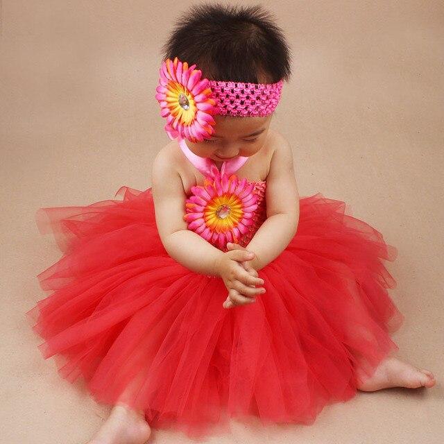 Высокое качество 6 месяцев до 2 лет удобная мягкая пачка coral blue красный девочка платье