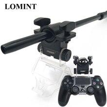 LOMINT Hookah ผู้ถือท่อ Shisha อลูมิเนียมสำหรับ PS4 Slim Pro เกมคอนโทรลเลอร์ Chicha Narguile อุปกรณ์สูบบุหรี่