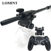 Lomint 물 담뱃대 호스 홀더 shisha 알루미늄 핸들 홀더 ps4 슬림 프로 게임 컨트롤러 chicha narguile 흡연 액세서리