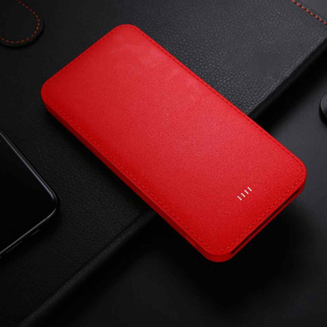 Power Bank Kit 10000mAh Ultra-thin 5.5inch Dual USB Output 5V 2A Powerbank Case External Battery Storage Box For iPhone Sumsang