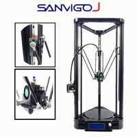3D принтеры линейный работы печати для датчик автоматической коррекции 3dprinter 0,4 мм сопла 3d DIY Kit