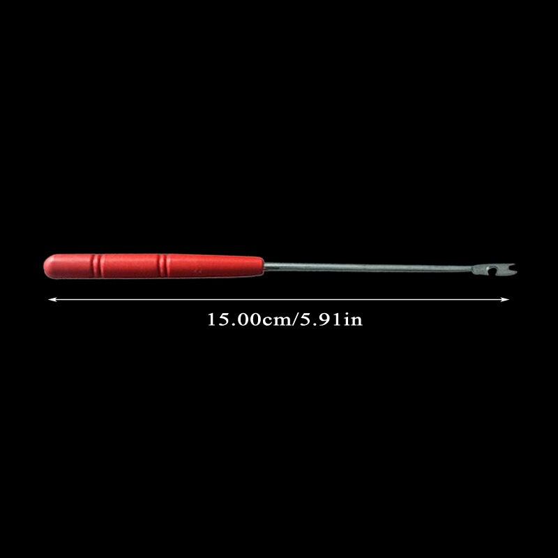 1 шт., инструмент для удаления рыболовного крючка, 15 см, безопасный вытяжной крючок, переносные рыболовные снасти X328