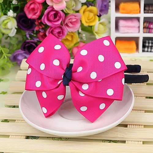 Cute Grosgrain Ribbon Bows Baby Toddler Hairbands Kids Headbands Children Hair Accessories For Girls Headwear Party Birthday Christmas Gifts