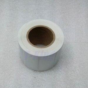 Image 4 - シルバー Pet ラベルステッカー 65*35 ミリメートル 1000 個/ロール防水 Tearproof 耐油製品ラベルシリアル番号固定資産ラベル