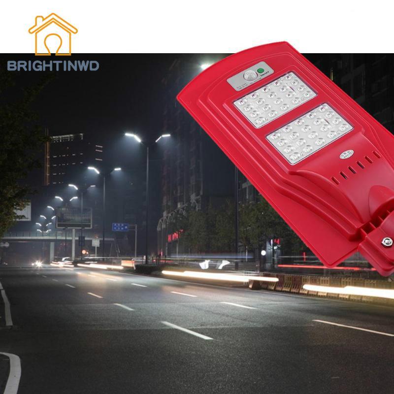 Solar Light 40W 40LED Ultra Bright 220V Waterproof Wall Lamp Outdoor Induction Road Garden Street Lighting Ip65 Modern Emergency