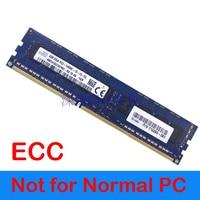 For Server Memory Only U DIMM RAM ECC DDR3 8GB DDR3 1333 1600Mhz 1866Mhz PC3 10600 PC3 12800E 2Rx8 PC3L 12800 ECC DIMM DDR3L 8G