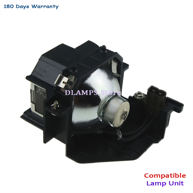 Wholesale prices Replacement bulb With Housing ELPLP44 Compatible For EPSON EH-DM2 / EMP-DE1 / MovieMate 50 / MovieMate 55 free shipping brand new elplp44 projector bulb with housing for emp dm1 dm2 eh dm2 moviemate 50 projectors 3pcs lot