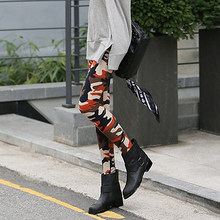 Women Camouflage Army Print Stretch Cool Sexy Pants Skinny Leggings Trousers(China)