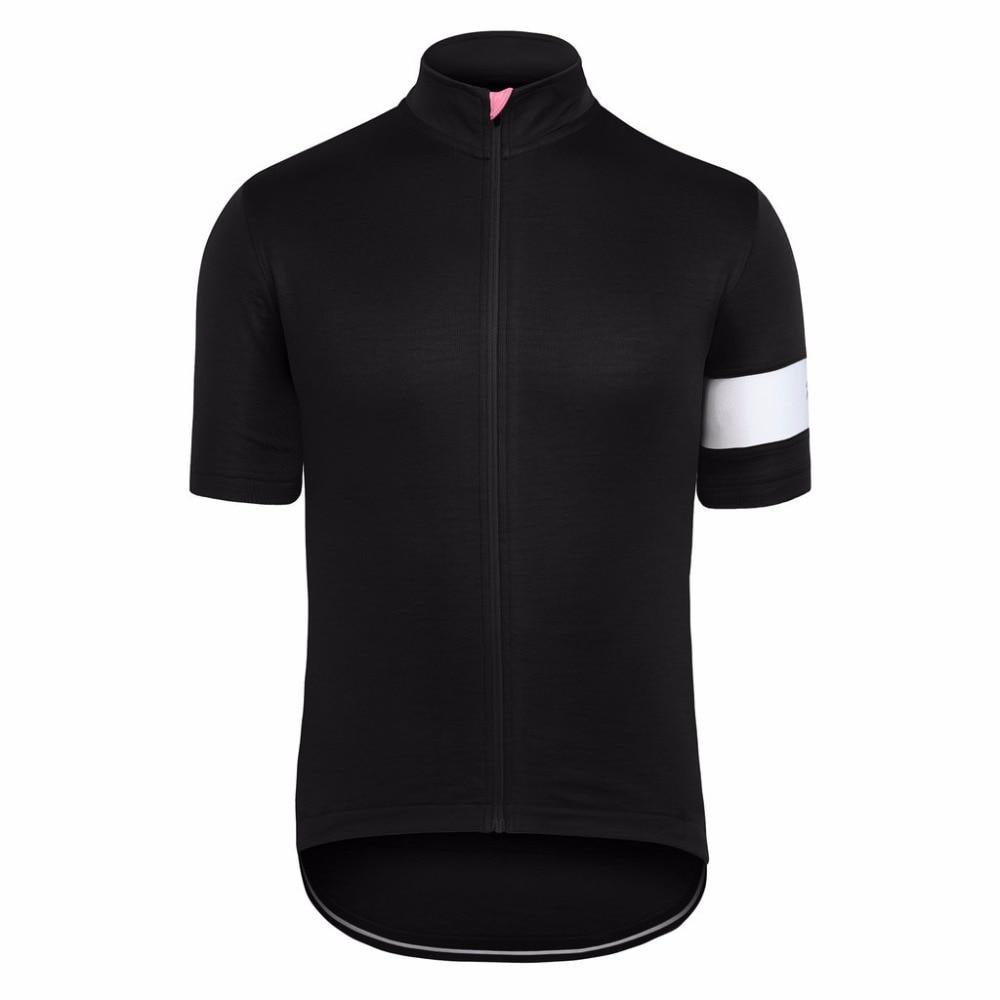 Prix pour 2017 RCC CLUB CYCLISTE PRO ÉQUIPE JERSEY à manches courtes route VTT cyclisme porter vélo vêtements vitesse de recyclage de haute qualité