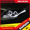 Auto Clud Style LED Head Lamp For Toyota Corolla Led Headlights 2011 Altis Angel Eye Led