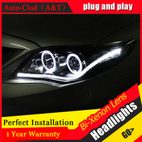 Auto Clud Style LED Head Lamp For Toyota Corolla Led Headlights 2011 Altis Angel Eye Led