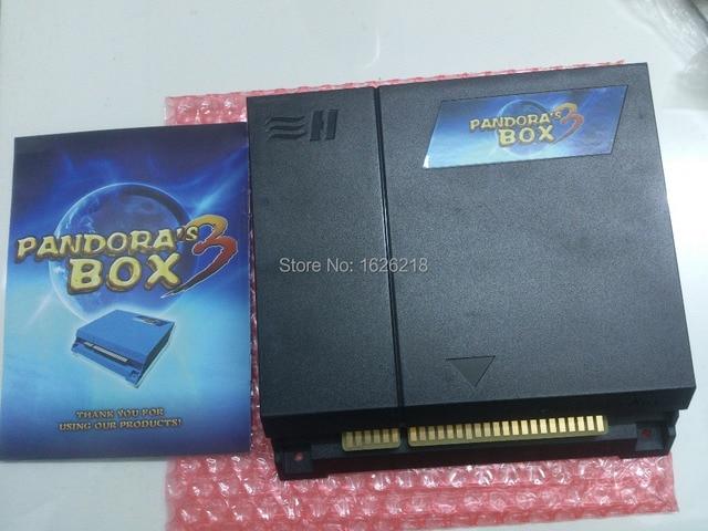 הגעה חדשה 520 ב 1 לוח משחק רב הגרסה המשודרגת החדשה התיבה רק עוד פנדורה 3 פלט לקבינט ארקייד cga & vga