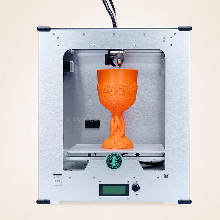 De alta Calidad mini máquina de impresión 3D tridimensional puerto USB puerto LA