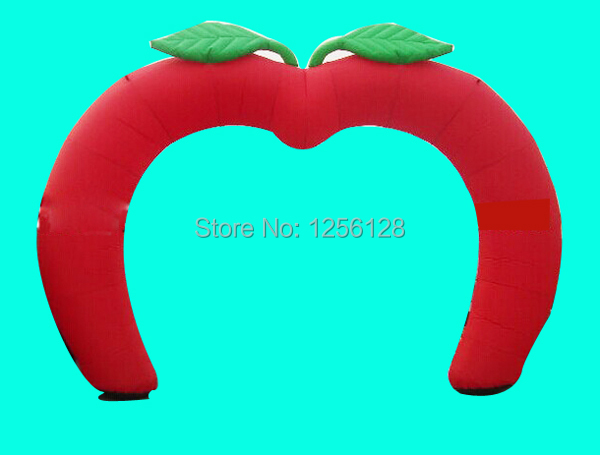 2014 new design big red inflatable apple arch for wedding partytv 2014 new design big red inflatable apple arch for wedding partytv shows decoration junglespirit Gallery