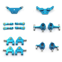 For Wltoys Metal Full Set Upgrade Part For 1:28 P939 K979 K999 k969 RC Car Spare Parts Replacement Accessories