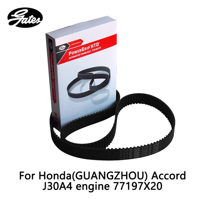 Gates Timing Belt For Honda Accord J30 3 (2003 2008) TL 3.2 (