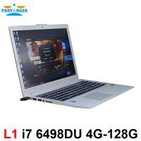 Partaker L1 15 6 Inch Laptop Computer Notebook PC With I7 6498DU GT940M 2G Discrete Graphics