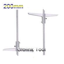 """200 мм """" Глубина штангенциркуль Калибр глубина измерительный инструмент 0-200 мм Высокое качество"""