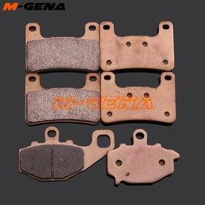 De metal para motocicleta de sinterización de pastillas de freno para ZX-10R ZX10R 2008, 2009 de 2010 Z1000 Z1000SX 2010, 2011, 2012, 2013, 2014, 2015, 2016, 2017