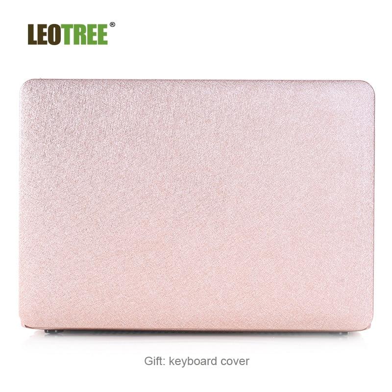 2 in 1 Soft-Skin Silk Texture Plastic Hard Case Cover & Keyboard Cover for Macbook air/ Macbook/ Macbook Pro