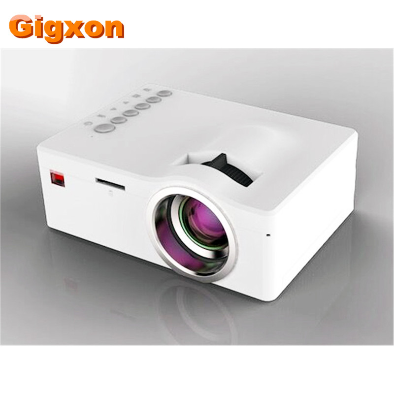 ФОТО Gigxon - G18 pocket projector for games/video film UC18 support mp3/mp4 mini projector for business travel