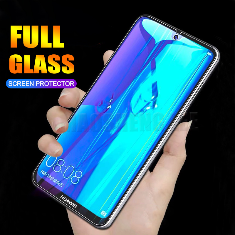 US $2 83 5% OFF|2pcs/lot Full Tempered Glass For Huawei Y7 Prime 2018 Y7  Pro 2019 Screen Protector 9H tempered glass For Huawei y7 Pro 2019-in Phone